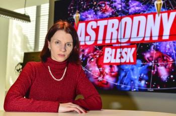 vědma jasnovidka Anima Noira v Astrodnech Blesku