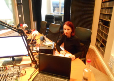 Noira je hostem rádia Slobodný vysielač