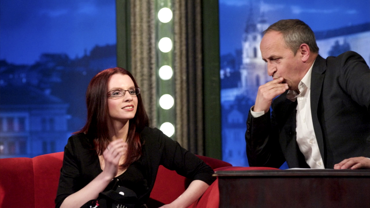 čarodějka Anima Noira v talk show Jana Krause