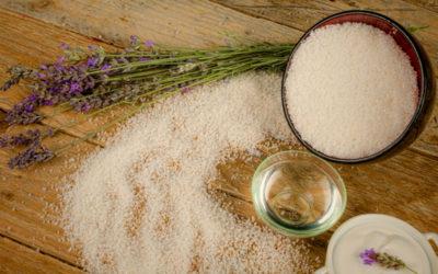 Očista v soli rituální koupel