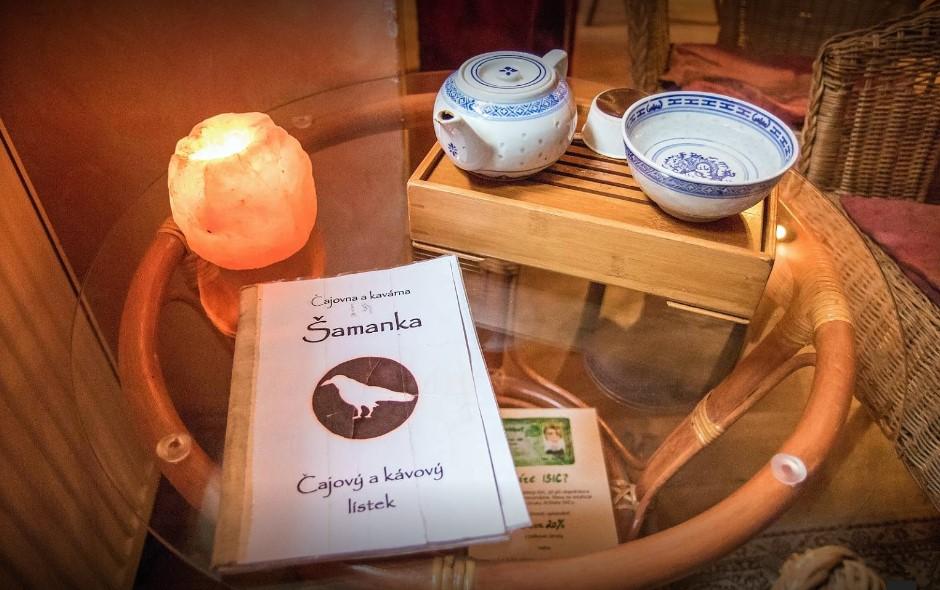 Nabídka čajovny Šamanka