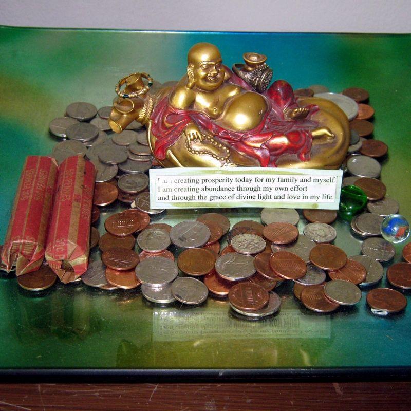 Východní oltář na prosperitu
